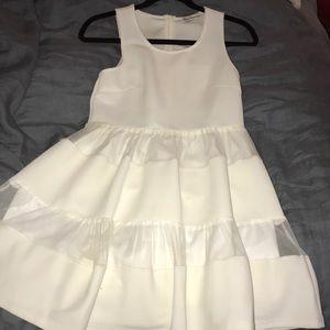 Dainty hooligan white summer dress